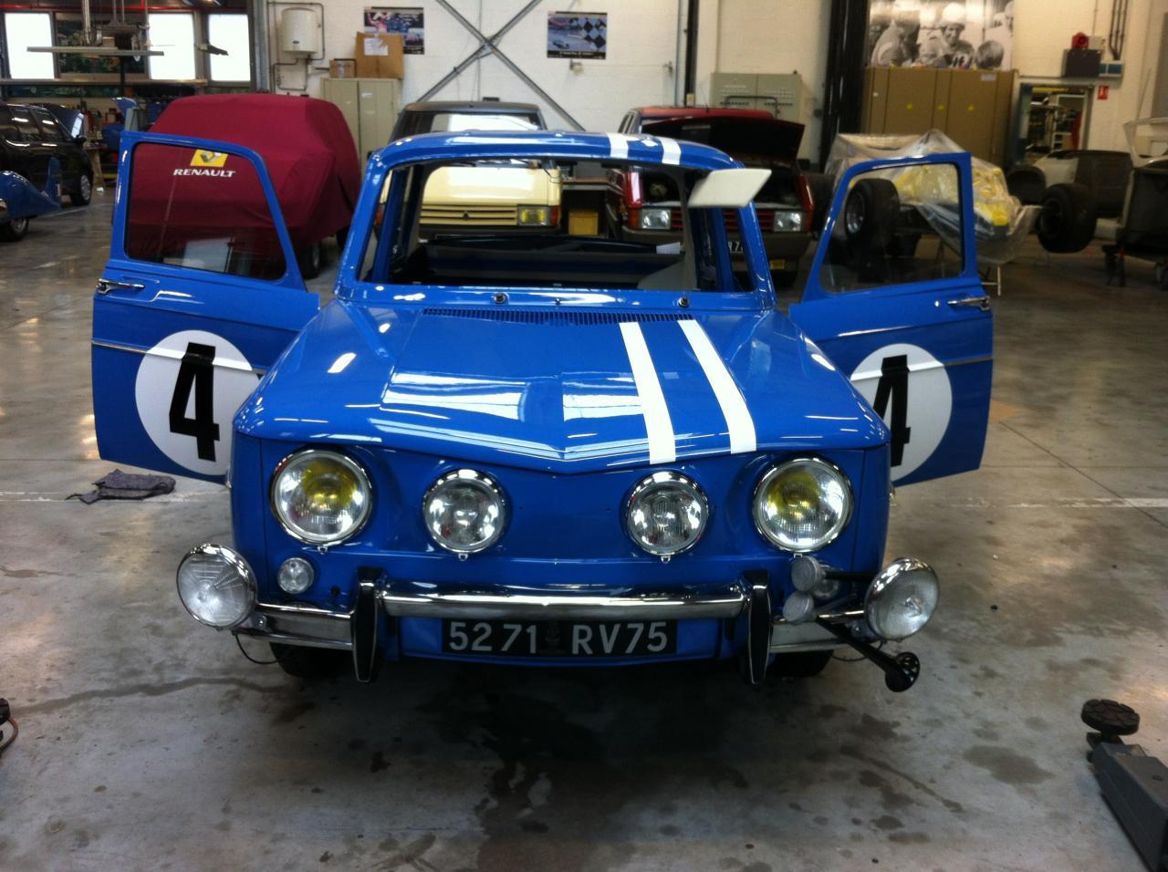 Réalisation Renault 8 gordini
