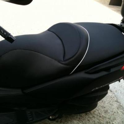 réalisation selle de scooter 125 kymco