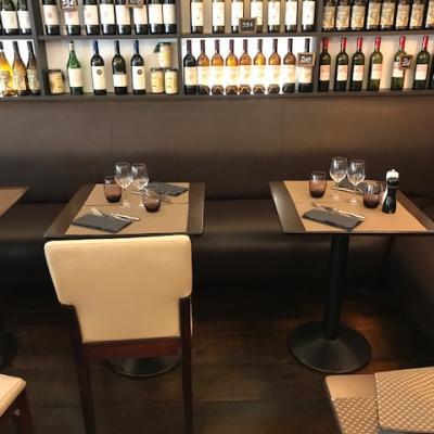 Restauration sur banquette restaurant parisien