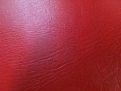 Feuille skai rouge