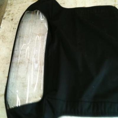 Capote vinyle noire pour peugeot 204 304