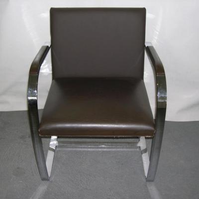 restauration dossier sur fauteuil knoll