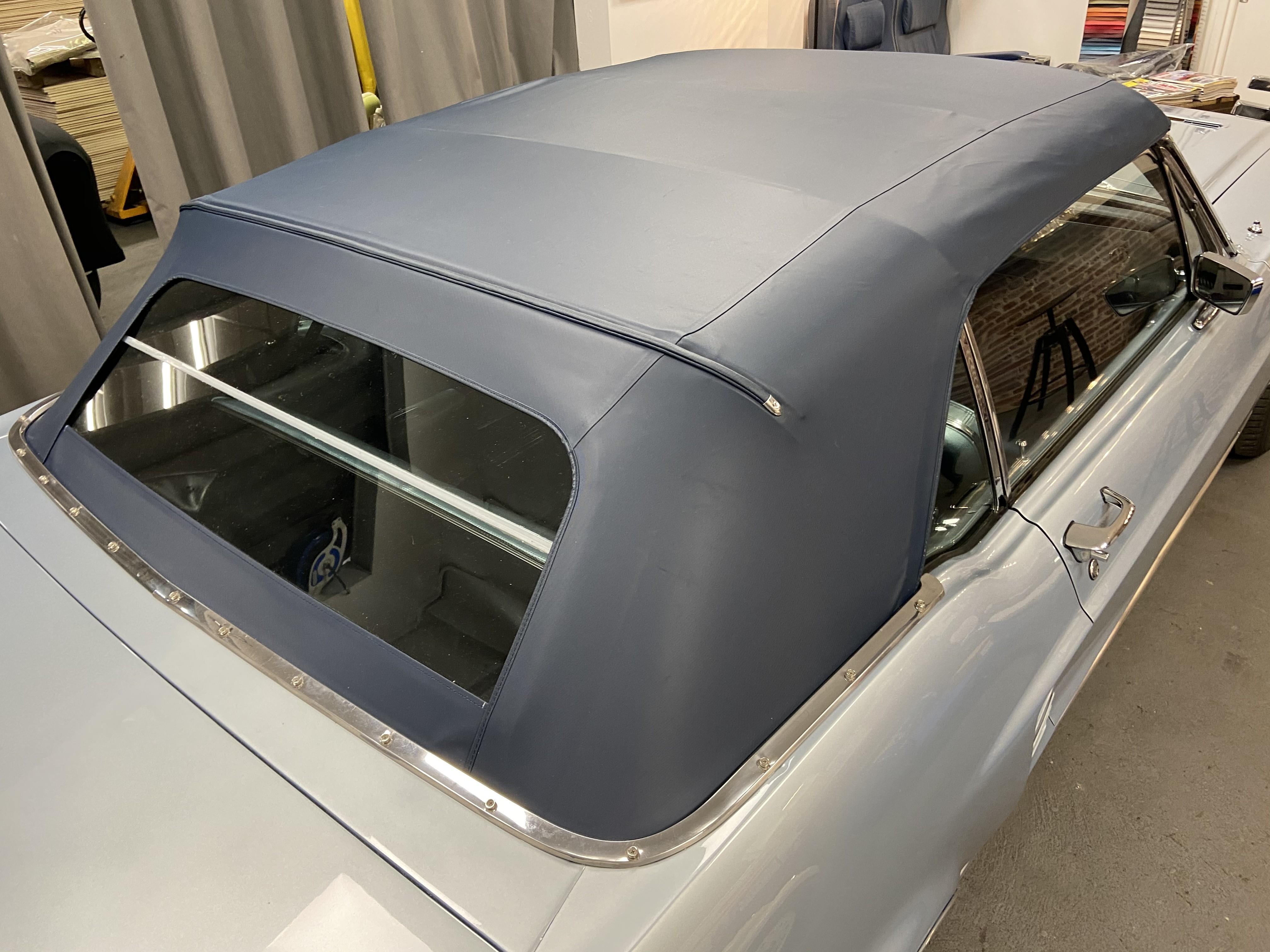 Changement de capote Ford mustang