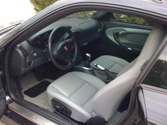 interieur cuir porsche 911 modele 996 carrera 4s