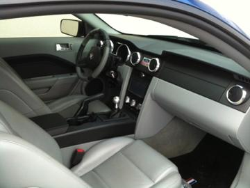 Réalisation sellerie Ford Mustang