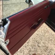 Réalisation panneaux de portes sur MERCEDES SL R107