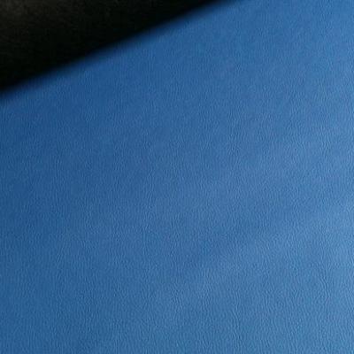 Feuille skai bleu
